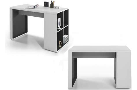 bureau gris blanc bureau design blanc gris novomeuble