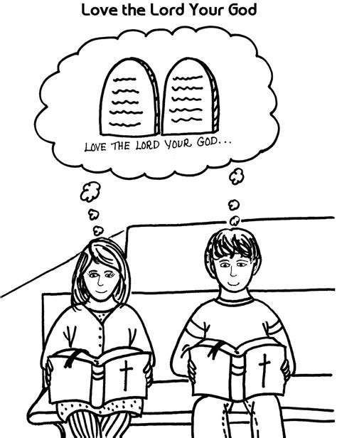 coloring pages on love from god love the lord your god coloring sheet wesleyan kids