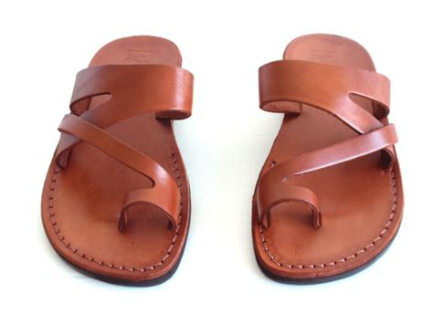 design slippers sale handmade leather sandals jericho shoes
