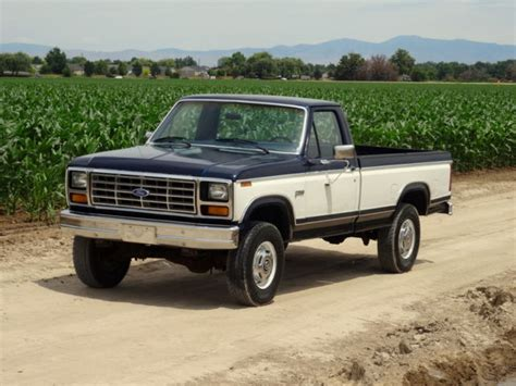 car owners manuals for sale 1984 ford f250 interior lighting 1984 ford f250 1 owner original low mileage 4x4 for sale photos technical specifications