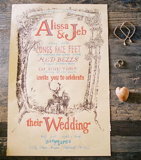 harvest moon wedding invitations intimate backyard harvest wedding alissa jeb
