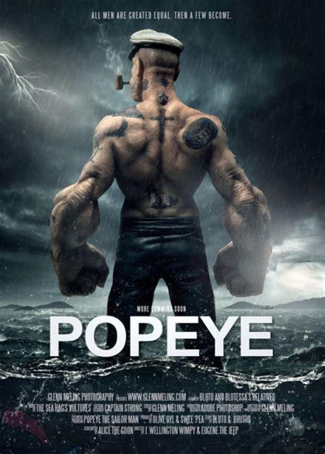 poster trailer popeye  sailor man   meme