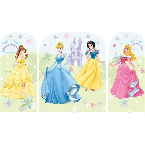 disney wall sticker 28 large disney princess wall decals disney princess storybook peel and stick wall mural
