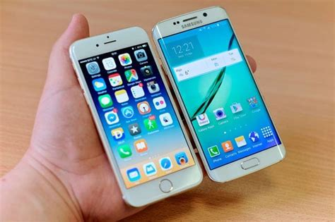 iphone 6s vs samsung galaxy s6 comparativa de caracter 237 sticas