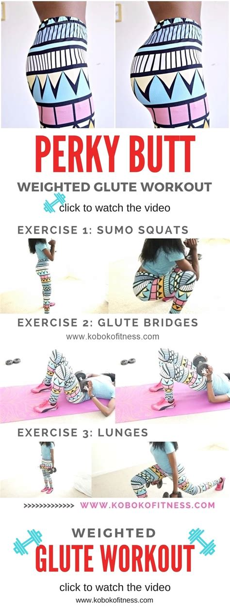 how to a bigger weighted glute workout