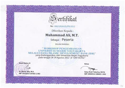Surat Keterangan Akreditas by Muhamad Ali St M T Staff Site Universitas Negeri