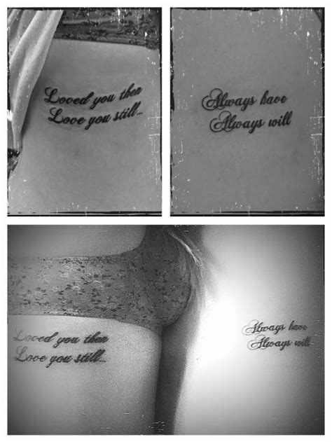 couple tattoos roman numerals quotes for infinity with