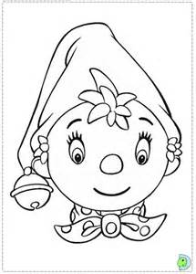noddy coloring page dinokids org