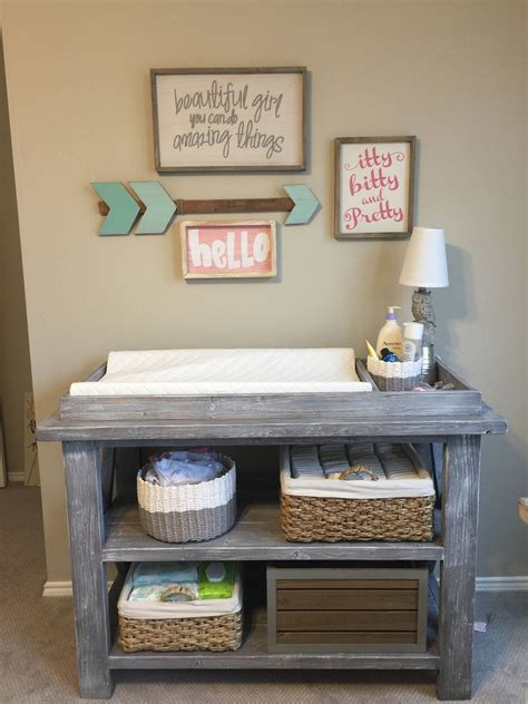 baby ivie rustic changing table rustic changing table