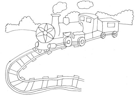 track coloring pages for kids freecoloring4u com