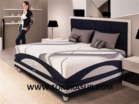 Ranjang Besi 160x200 therapedic agility m toko kasur bed murah simpati furniture