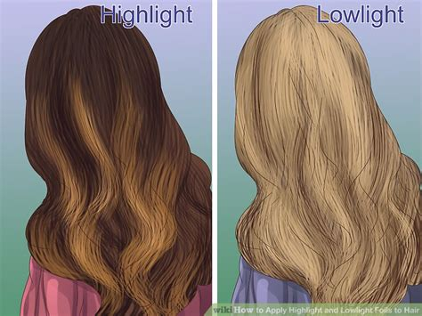 using a brush for lowlights how to apply highlight and lowlight foils to hair with