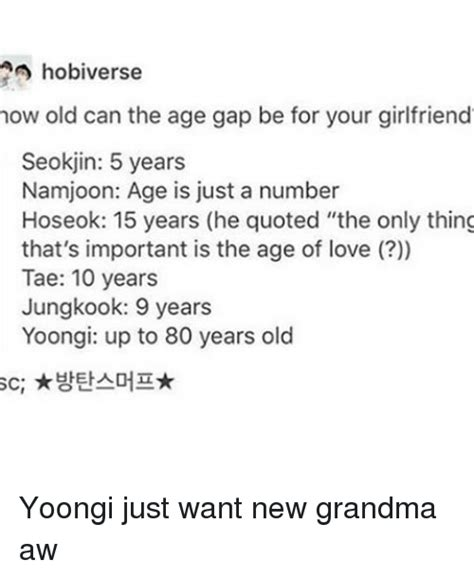 namjoon kim age funny age is just a number memes of 2016 on sizzle