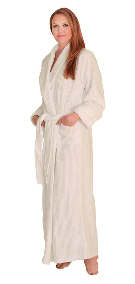 full length bathrobe ndk new york chenille robe full length 100 cotton 59 99
