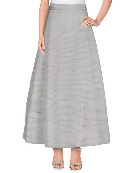 ashish skirt in gray lyst
