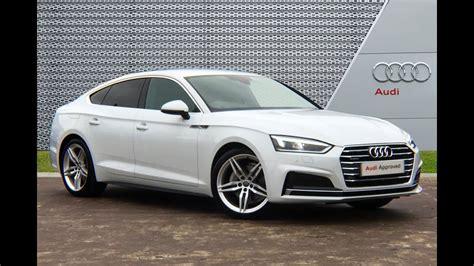 Audi A5 In White by Ro17tcy Audi A5 Sportback Tdi Quattro White Youtube