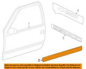 Oem Chevrolet Silverado Parts Chevrolet Gm Oem 03 06 Silverado 1500 Front Door Side