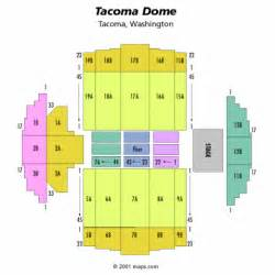 map of dome seating tacoma dome seating chart tickets the garth world