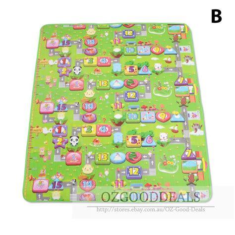 large alphabet rug large 2mx1 8m baby play mat floor rug sides alphabet animal 5mm ab