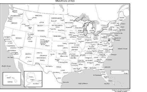 united states map outline labeled united states labeled map