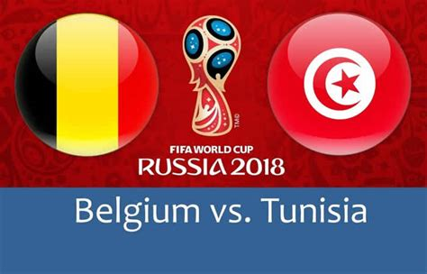 belgium vs tunisia betting picks 2018 fifa world cup