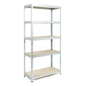 B Q Bathroom Shelves 5 Shelf Metal Shelving Unit Departments Diy At B Q