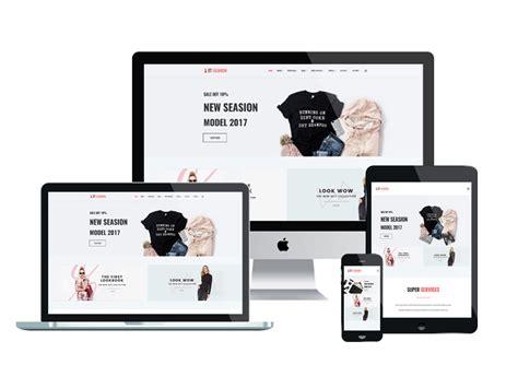 Responsive Fashion Website Templates Free Et Fashion Free Responsive Fashion Website Template
