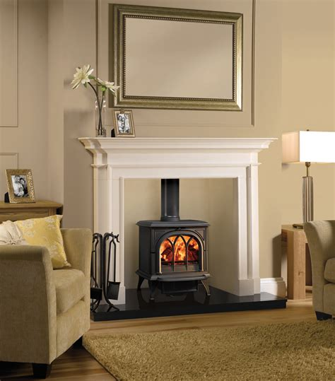 Fireplace Surrounds For Wood Burners by Stovax Sandringham Mantel Stovax Mantels