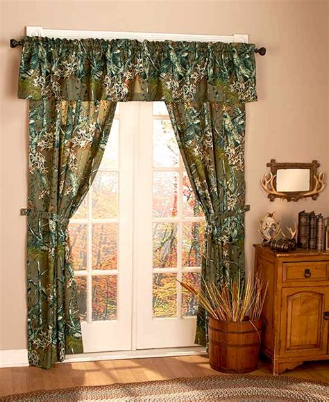 window sets curtains the woods 5 pc window curtain sets ebay