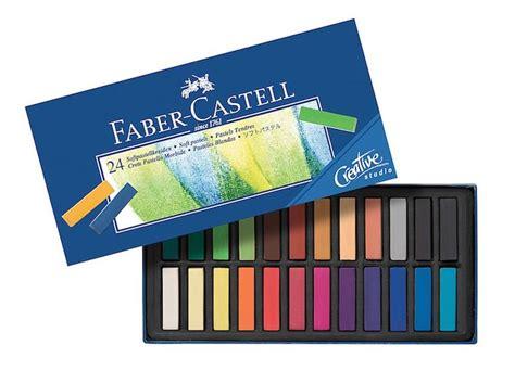 Pastels Faber Castell Gofa Creative Studio 24 Colors creative studio 24 faber castell soft pastel set colin bradley store