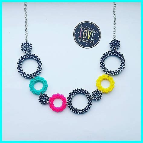 perler bead jewelry best 25 hama jewelry ideas on plastic