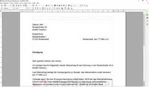 Musterbrief Termin Vereinbaren Briefvorlage K 252 Ndigung Musterdepot Er 246 Ffnen