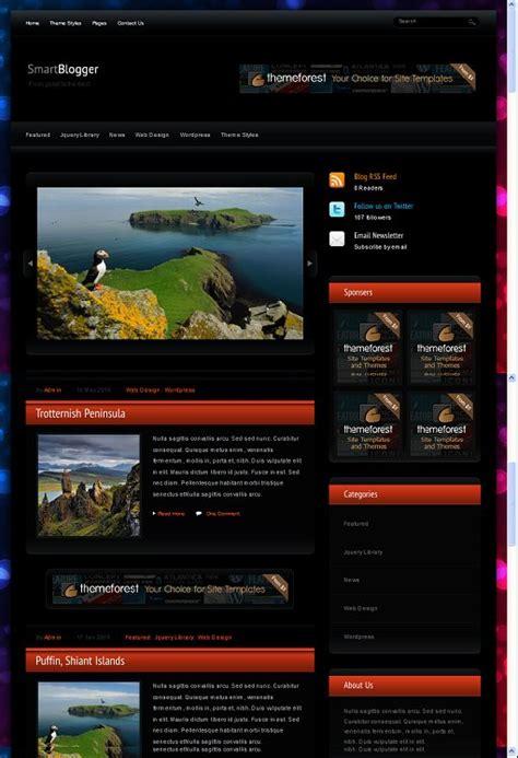 themeforest blogger themeforest smart blogger wordpress theme webabout org