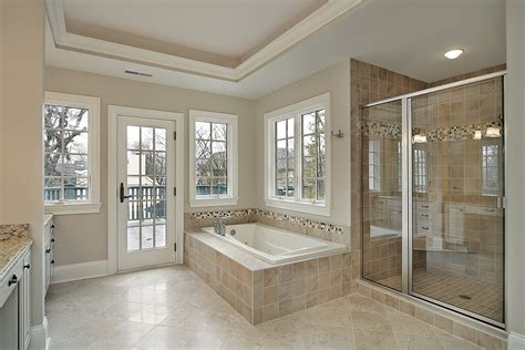 Mosaic Tiles In Bathrooms Ideas beige and black bathroom ideas wall mounted vanity with