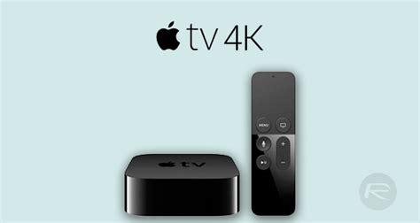 apple tv 4k apple tv 4k name cpu ram hdr new siri remote and