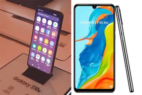 Huawei P30 Vs Samsung Galaxy S10e by Galaxy S10e Vs Huawei P30 Lite Comparativa De Caracter 237 Sticas Giztab