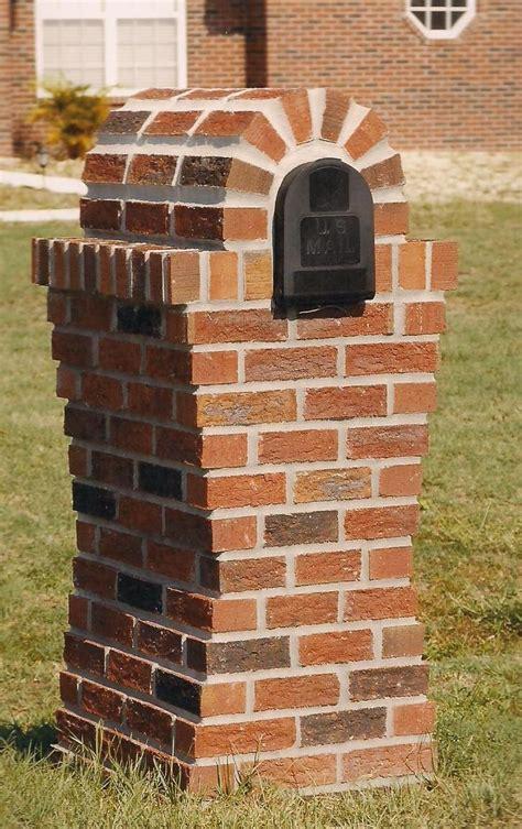 brick mailboxes brick mailboxes