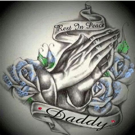 rest in peace dad tattoo designs 25 best rest in peace ideas on