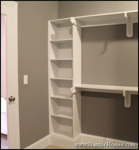 bedroom closet shelving new home master bedroom closet storage and builtin