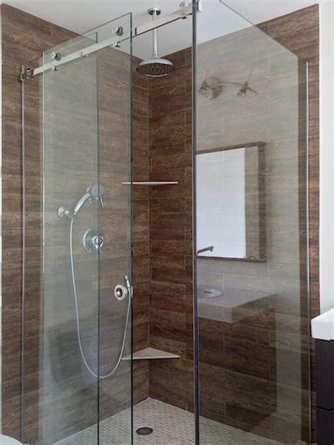 glass shower sliding doors frameless sliding shower doors and enclosures