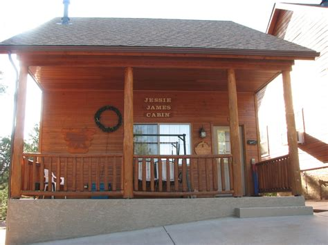 Wooden Nickel Cabins Payson by Front Of Cabin 1 Yelp