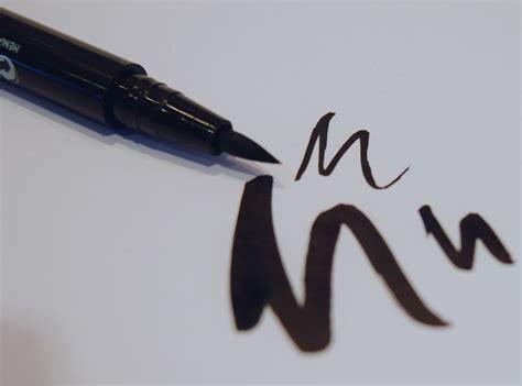 Eyeliner Silky hema soft eyeliner pen the luxe list