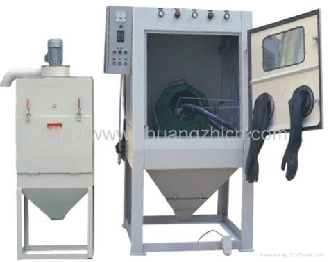 sandblasting suppliers half automatic sandblasting machine cj 1010d chuangjie