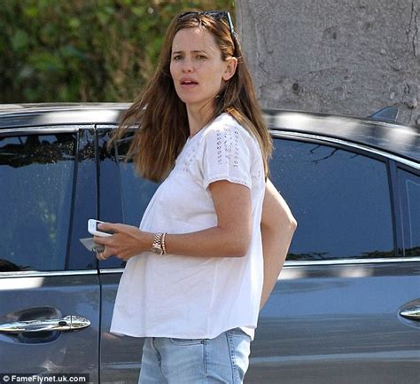 Garner Expecting Baby Number 2 by Garner Wears Top That Gives Illusion Of A