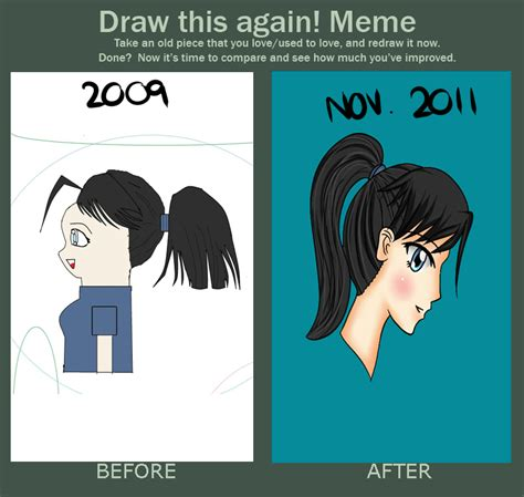 Draw It Again Meme Template - draw this again meme by icelavender63 on deviantart