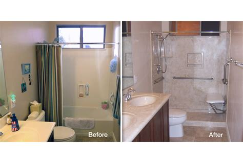 Before And After Shower by Tub To Shower Conversions