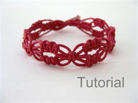 Macrame Knots Bracelets - macrame bracelet pattern lacy macrame bracelet pattern