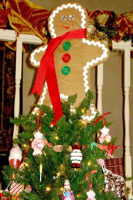 gingerbread tree toppers all the cool to craft gingerbread of my dreams