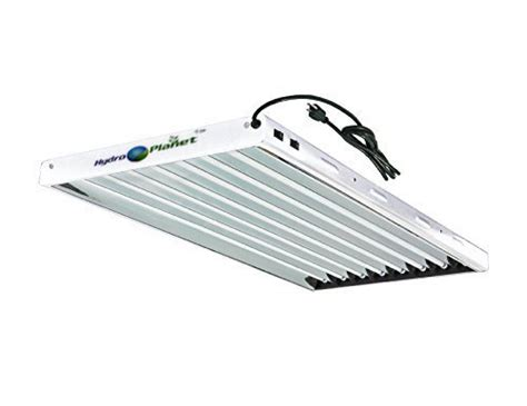 hydroplanet t5 4ft 8l fluorescent ho bulbs included for