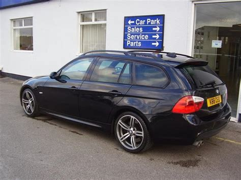bmw 3 series estate for sale uk used bmw 3 series car 2006 black diesel 330d m sport